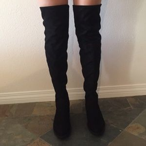 adrienne vittadini over the knee boots!